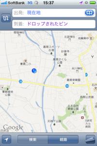 地図:荒井橋