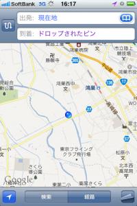 地図:滝馬室橋