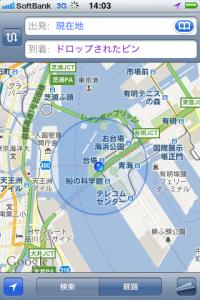 地図:船の科学館