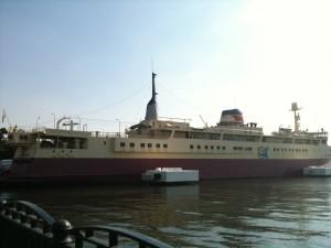青函連絡船 羊蹄丸 船の科学館別館