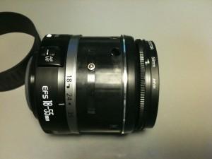 側面ネジ(3) EF-S18-55mm F3.5-5.6 II USM