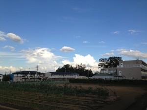 2013/9/3 16:22 茨城・千葉の方向の積乱雲