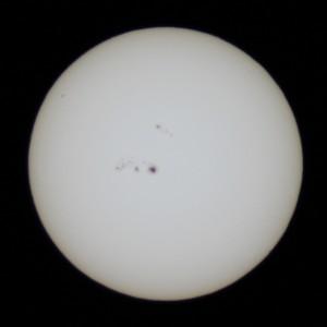 太陽(肉眼黒点) 2014.1.7