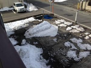 大雪王蟲 駐車場