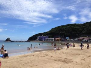 外浦海岸 (2015/7/25)